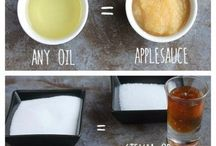 Healthy baking and cooking hacks
