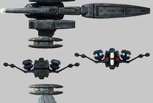 naves espaciais - criativo
