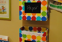 Projects im doing lately & Organizing card board style / by Heather Wix-Aguilera