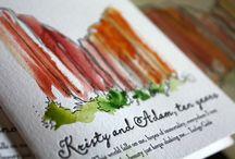 Art | Letterpress / Art prints created using letterpress