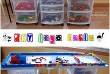 kids storage lego