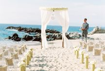 Destinations / Beautiful destination wedding ideas. Beach, you say?