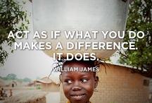 Interessant und inspirierend / Was treibt uns an? Welche Werte prägen uns? Wen bewundern wir?