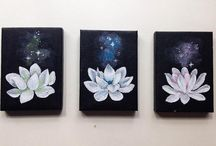 Mini Canvas and painting