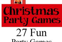 Christmas Party Ideas and Games / Christmas party ideas, games, activities, scavenger hunts / by Birthday Party Ideas 4 Kids