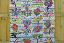Flowers garden quilt