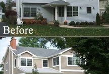 Houses: Before and After