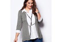 Bellísima - trendy kousky až do velikosti 60 / Každá žena je krásná, a to bez ohledu na to, jakou velikost obléká. Na modinu tak sežente stylové oblečení až do velikosti 60. Buďte IN!