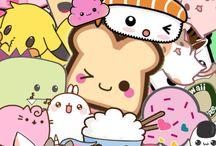 Cutie animal and food