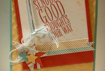 Card Ideas - SU Perfect Pennants / by Lisa Gundrum