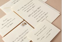 Real Weddings / Beautiful wedding invitations designed by Crane brides and their retailers. / by Crane & Co.