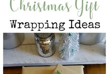 Sharing some Simple Vintage Christmas Gift Wrapping Ideas that is inexpensive   Full tutorial   www.raggedy-bits.com