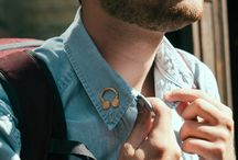 Grado Pin / Grado found a friend in Brooklyn pin company Pintrill and made an awesome little headphone pin. / by Grado Labs