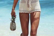 crochet shorts no patterns