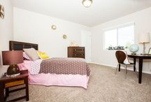 Secondary Bedrooms / Teaming up with Spokane's premier furniture store Tin Roof. Featuring beautifully staged bedrooms.