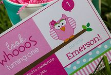 LOOK WHOOOS printable collection from Lauren McKinsey / by Lauren McKinsey