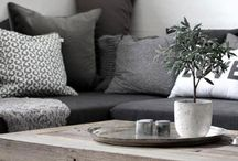 Say simple yes to peaceful home / Scandinavian interiors with simple and peaceful colors