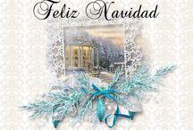 Tarjetas de Navidad / tarjetitas de saludo