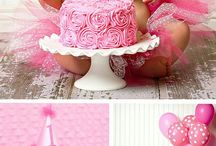 Arey 1st bday photo ideas