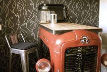mesas connpezas tractor