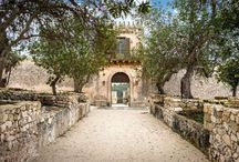 Dimora delle Balze / Exclusive private luxury resort in an imposing fortified sicilian country house with extensive grounds