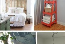 DIY Furniture / You could buy it, but you could also build it! Look hear for some neat inspiration!