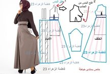 Moslem Dress Pattern