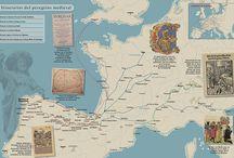 Cartografía / Muestras que encuentro por la red sobre cartografía y trabajos propios.