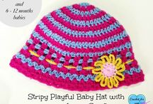 Crochet & Knit - Baby & Toddler hats / Hats for baby and toddler boys and girls