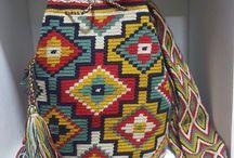 Wayuu & Arhuacos Mochilas - Colombia