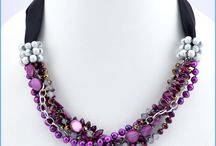 Radiant Orchid: Pantone's 2014 Color of the Year / We love all things purple, so we are loving that radiant orchid is Pantone's Color of the Year. This color trend is one we can get behind, as we offer the gorgeous glass beads and leather cord to match.