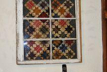 Fun ways to display quilts