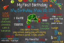 Micah's first birthday / by Nikki Mancini