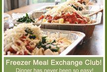 Freezer Meal Club / Pinboard for freezer meals