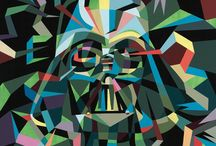 Darth Vader remixed / Darth Vader redone by artists/manufacturers.