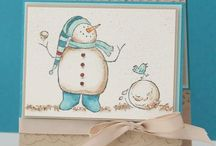 Winter Cards and Crafts (stamping)