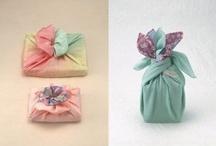 Japanese Arts..... / A collection of beautiful ideas (Tsutsumi &  Furoshiki )