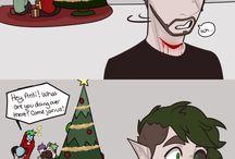 Antisepticeye comic