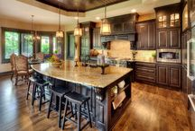 Kitchens - Traditional / Traditional kitchens are defined by their details, finishes and door styles and most are ornate in nature.
