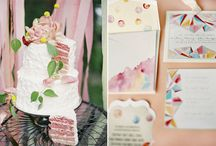 Flowers & Cake, Cake, Cake, Cake / Cakes covered in flowers - real and fake!