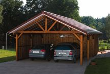 Car port and driveways
