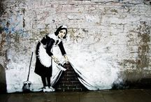 Banksy Bomb / Is it Art? Is it Education? No, it's a fine selection of Banksy's most provocative work. Enjoy as irresponsibly as possible.