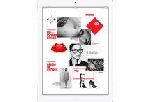 Digital Design / web, mobile device and tablet design