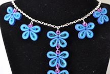 quiling necklace