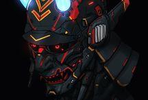 sci-fi and cyberpunk