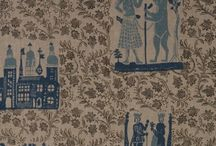 Textiles, Fabrics, Rugs and Wallpapers