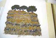Embroidery / Some wonderful work being done in stitch.