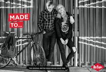 Lee Cooper: Made To... / Lee Cooper has heritage, provenance and is from London's East End. Our denim is authentic and recognizable. Our clothes are made to explore in, made to dance in, made to play in, made to perform in. Made for artisans, by artisans. From the studio to the stage; from the park to the market; effortless and understated style made in London's East End.