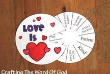 children's ministry / Bible stories, craft