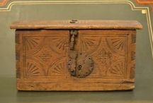 Colonial age woodcarving